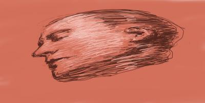 Durmiente 19-1-14. Dibujo digital